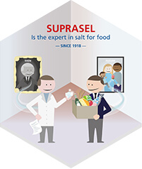 Suprasel: Expert in salt for food.