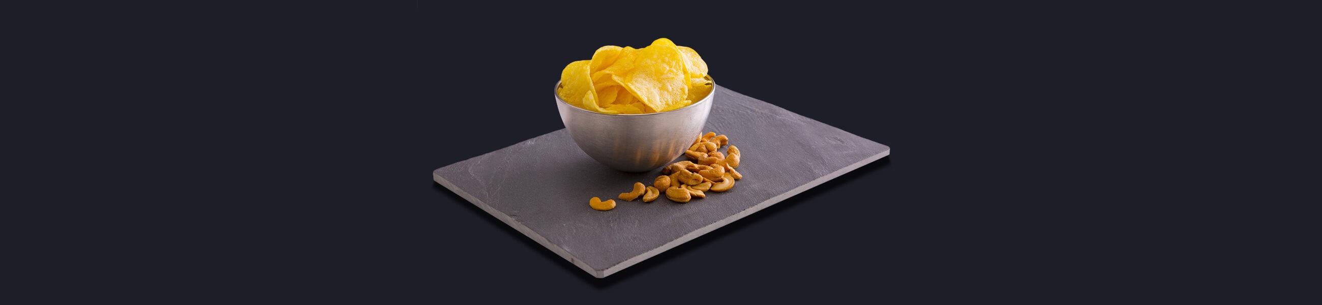 Salty snacks with Suprasel salt