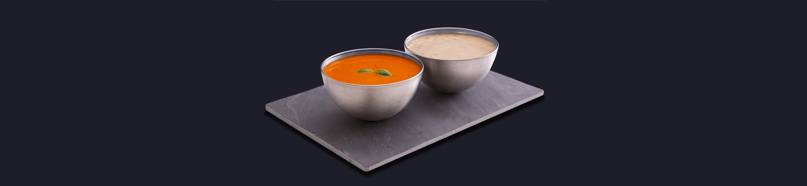 Soups and ready meals containing salt
