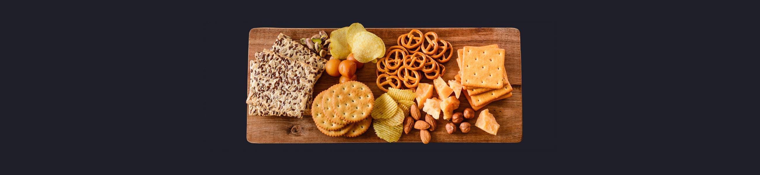 Snacks, salt for food